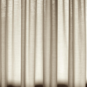 Closed Window Drapes